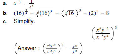Algebra 2 sample problems