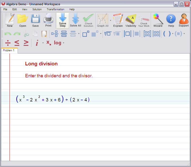 Long division of Polynomials – Long Division of Polynomials Worksheet